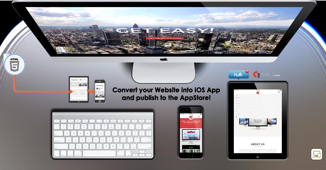 Web2App iOS App - Convert your Website to Mobile App - 2